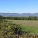 Před námi je poslední hřeben, pohoří Börzsöny.