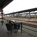 Na nádraží ve Štúrově náš výlet v podstatě končí.
