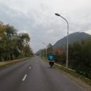 Další den nás čeká ještě pár rovných kilometrů pod Visegrád a tam sranda končí.