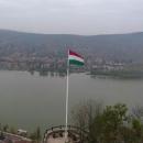 Dunajská zákruta z Visegrádu