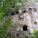 Věž hradu - v jedné z děr můžete vidět Libora