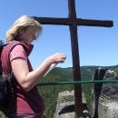 Na nejvyšším bodu hradu Vranova