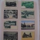 V letohrádku jsou mimo jiné vystaveny i staré pohlednice