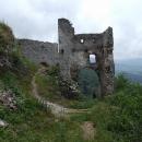 Opouštíme Plavecký hrad