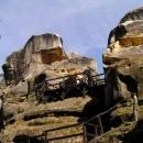 Hrad Rotštejn v Klokočských skalách