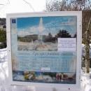 Zpívající fontána v zimě nezpívá