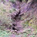 Místo původního mramorového lomu odkud byla jeskyně objevena.