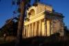 Apollonův chrám v zapadajícím slunci