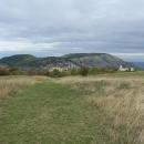 Pálava a Sirotčí hrádek ze Stolové hory
