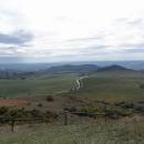 Výhledy ze Stolové hory na Mikulov