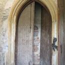 Detail dveří bývalého kláštera