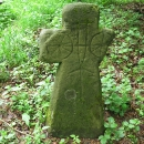 Formanský kříž u Svojanova se zajímavou rytinou