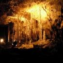 Krápníková výzdoba Kateřinské jeskyně