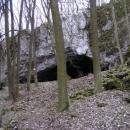 Jeskyně Pekárna v minulosti hojně obývaná pračlověkem