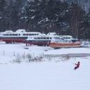 Vzpomínka na dětství, lodě Lipno a Vltava, jen ten Frymburk tu už není