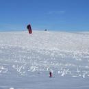 Netradiční zimní sport v 1.zóně národního parku