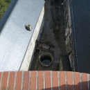 Výhled do hradní studny