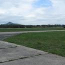 Ralsko a Ještěd jsouz letiště pěkně vidět