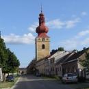 Kostel v Golčově Jeníkově měl takovou hezkou báň