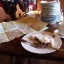 Doporučení na borůvkový koláč na Luční Boudě nezklamalo