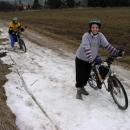 Setkání se zbytky sněhu
