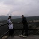 Vyhlídka na Mohelenské stepi s pozadím JEDU