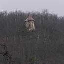 Altán Gloriet nad údolím Oslavy