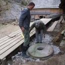Položení mlýnského kola do terasy