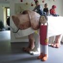 V Linhartovech se na vystavené exponáty nejen že může sahat, ale může se na ně i vylézt :-)