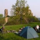 Nocleh na hradě Brníčko