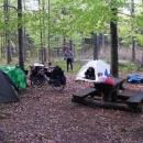 Tentokrát jsme přespali v lese