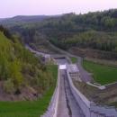 Přepad přehrady vypadá jak obrovská skluzavka