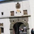Vstupní brána do hradu Sovinec