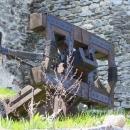 Tato replika středověké zbraně pochází z natáčení Johanky z Arku u Slezské Harty