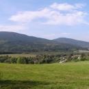 Pohled na Vysokou a Kraví horu od Šejbů