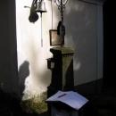 Záznam do knihy u kapličky v Rakousku