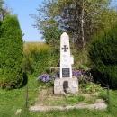 Další památník na 1.sv.válku - bývalá ves Dolní Příbrání