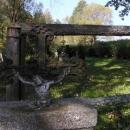Hřbitov v bývalých Cetvinách