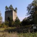 Zbytek věže tvrze v Tiché