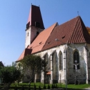 Gotický kostel v Rychnově nad Malší
