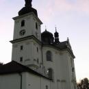 Poutní kostel v Dobré Vodě - od něj je nádherný výhled do kraje