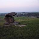 Kamenná pyramida u Dlouhé Stropnice