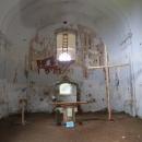 Zbytky malby v pohořském kostele
