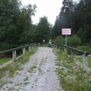 Přes historický most přes Malši se vracíme zpět do Čech