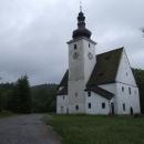 Z Cetvin zbyl v podstatě jen kostel