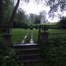 Obnovený hřbitov v Cetvinách