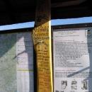 Valašský barometr založený na principu pověšeného špagátu