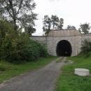 Portál tunelu z druhé strany.
