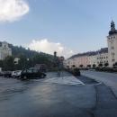 Náměstí ve Fulneku s radnicí