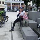 Na náměstí v Görlitzu